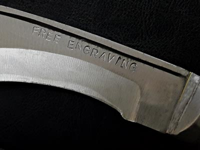 Free Text Engraving. Personalize it