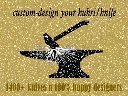 Make your own kukri/knife thru us