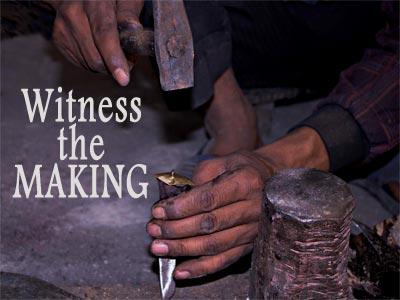 Making of a kukri (masters @ work)