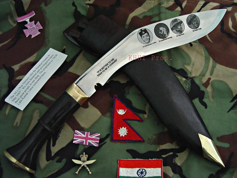 British Gurkhas Victoria Cross Khukuri