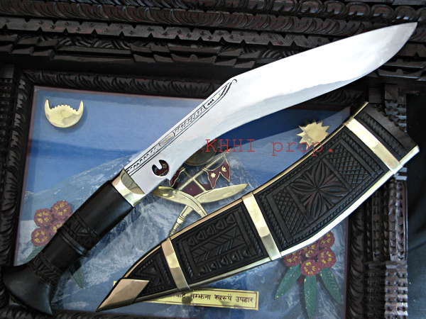 Chainpure Carved Wooden Scabbard Kukri