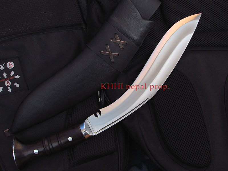 Panawal khukuri with two fuller in balde
