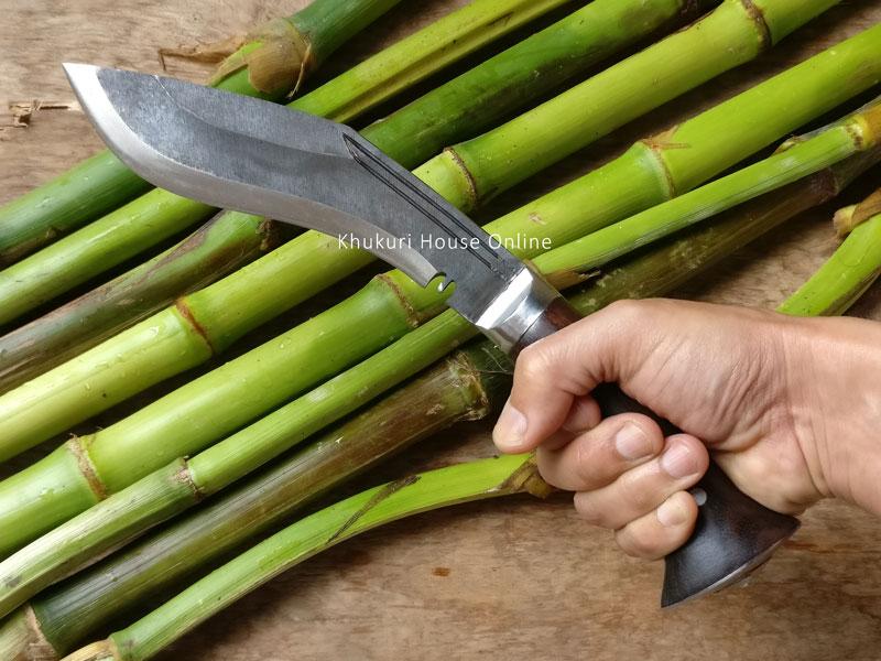raw khukuri used in village