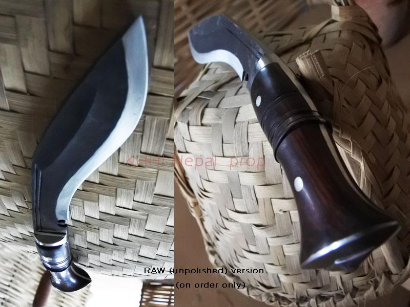 blade & handle view of compact kukri