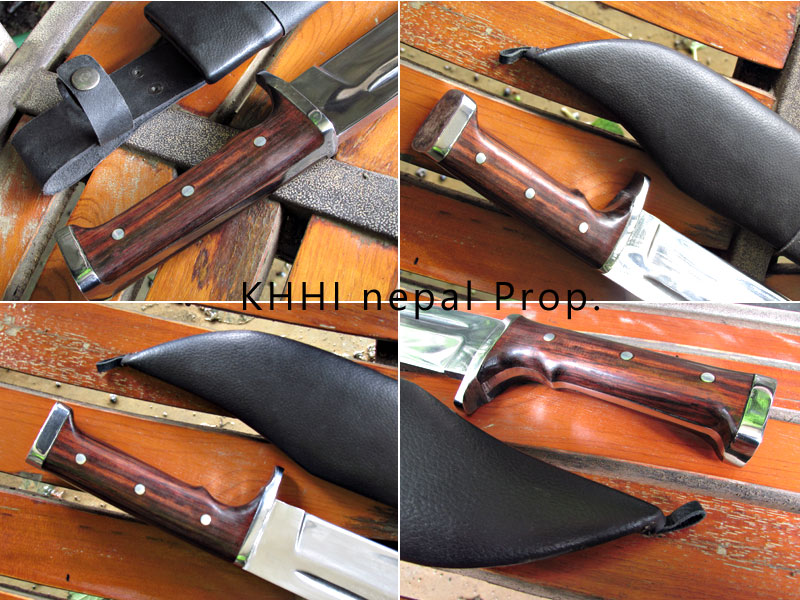 bowie knife with hammer handle