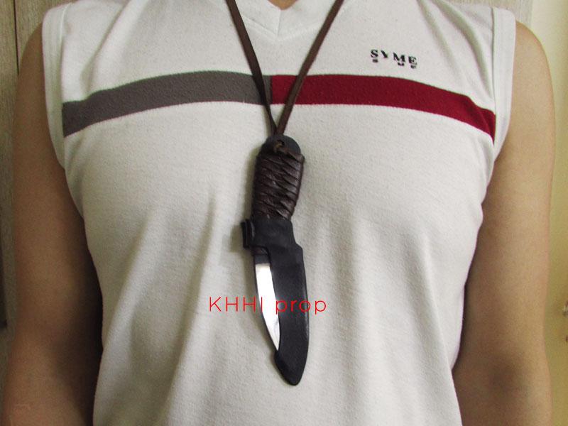 safe edc knife with neck hanger