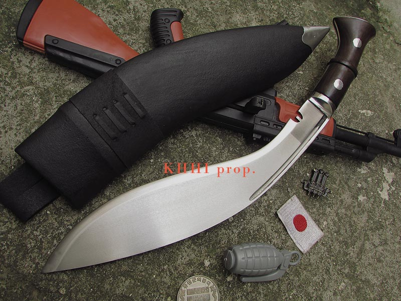 MK2 broad blade for impact and power