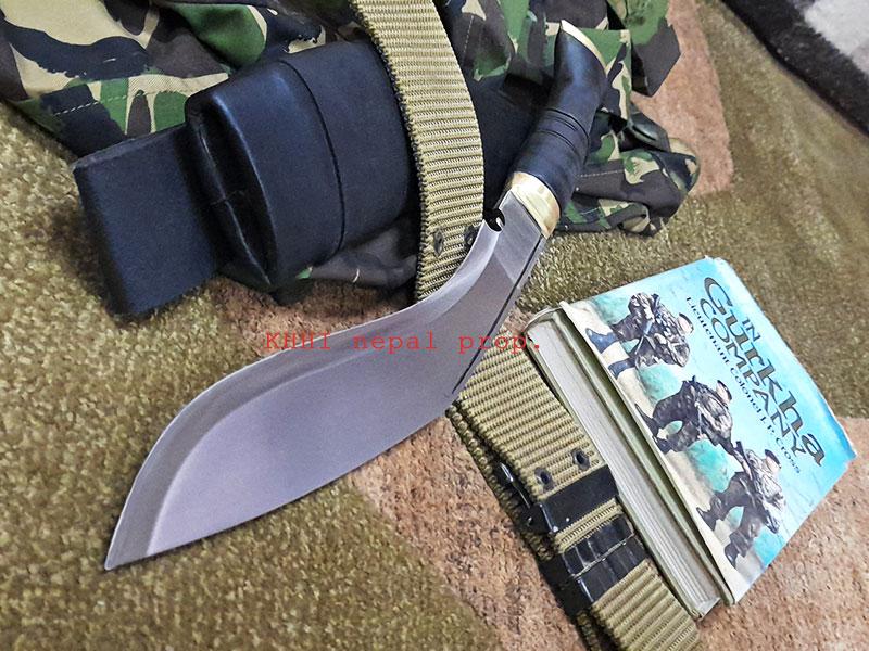 Gurkhas no.1 Combat kukri blade view