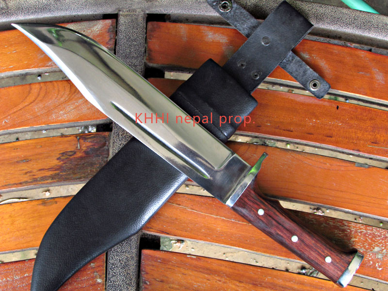invader an original handmade bowie knife
