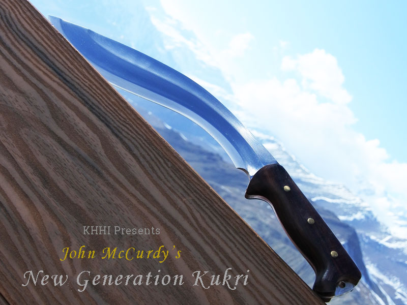 new generation McCurdy khukuri