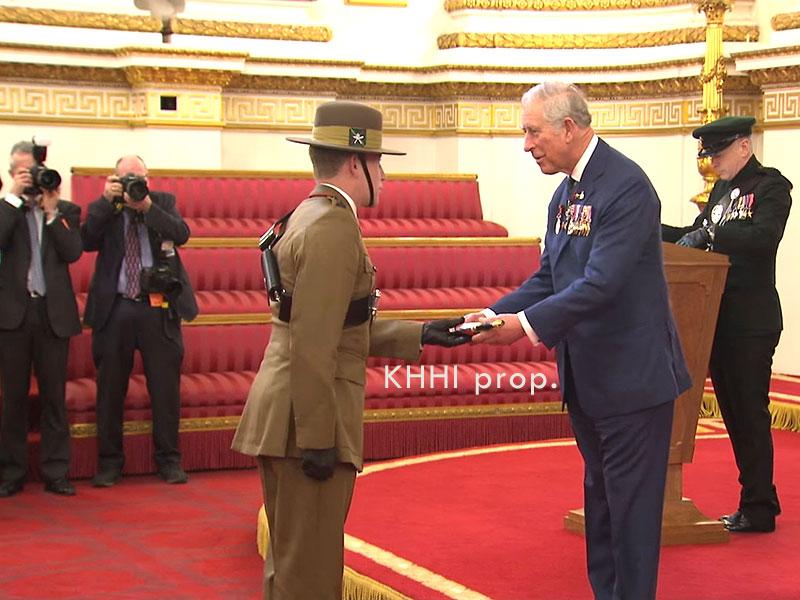 a Kothimora presented to a Gurkha officer