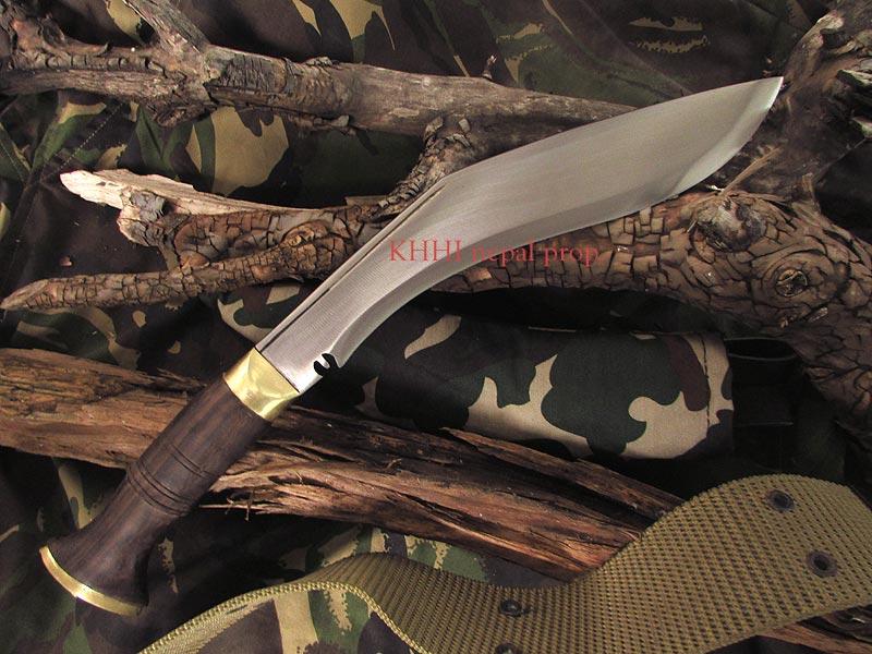Camouflage military kukri (full view)