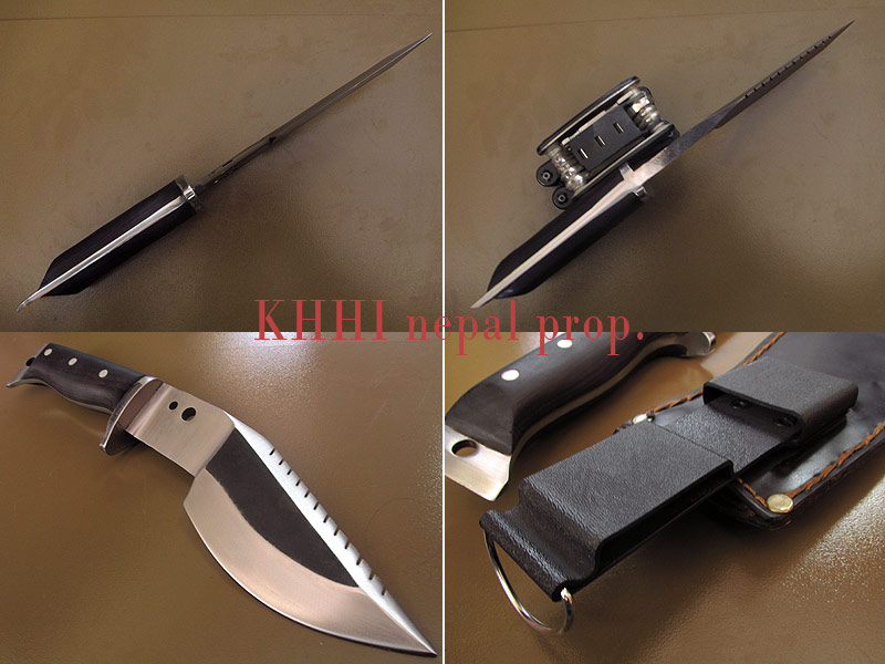 various angles MultiCraft Kukri-Bowie