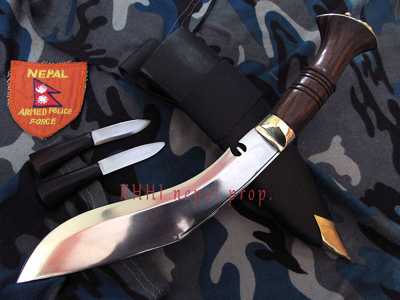 a complete view of APF issue kukri knife
