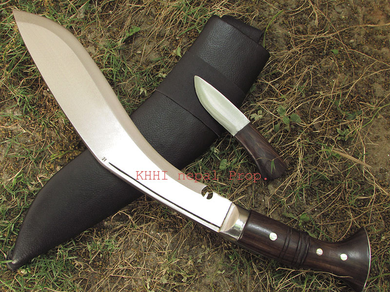Genuine Wilderness Kukri Blade and Back up