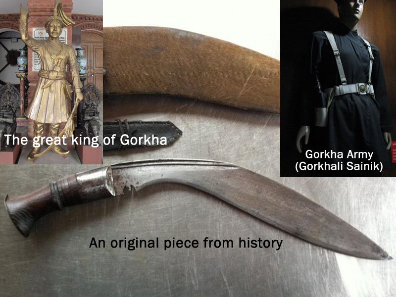 original kukri used by Gorkhali Army during 18th century