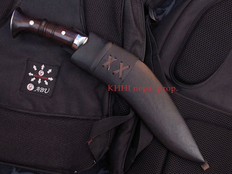 special panawal khukuri in leather scabbard-dap