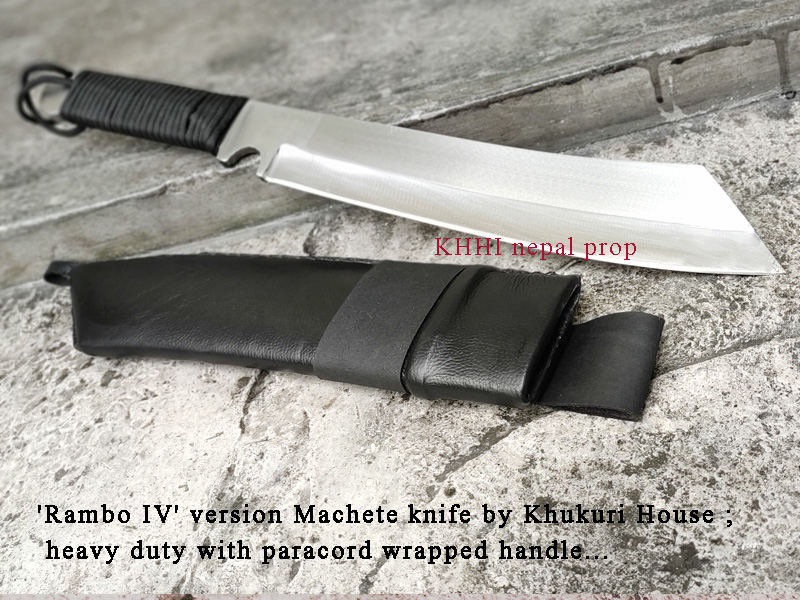 rambo 4 machete knife reproduced by KHHI