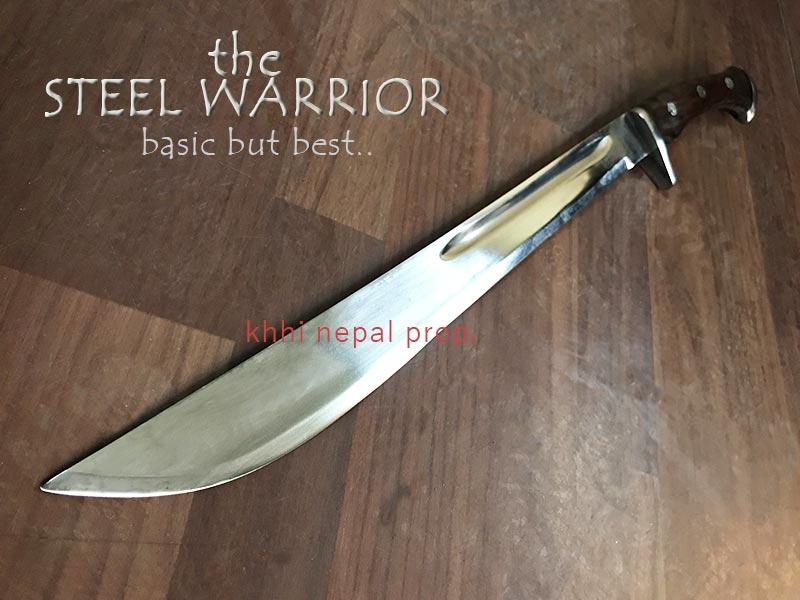 Steel Warrior blade view