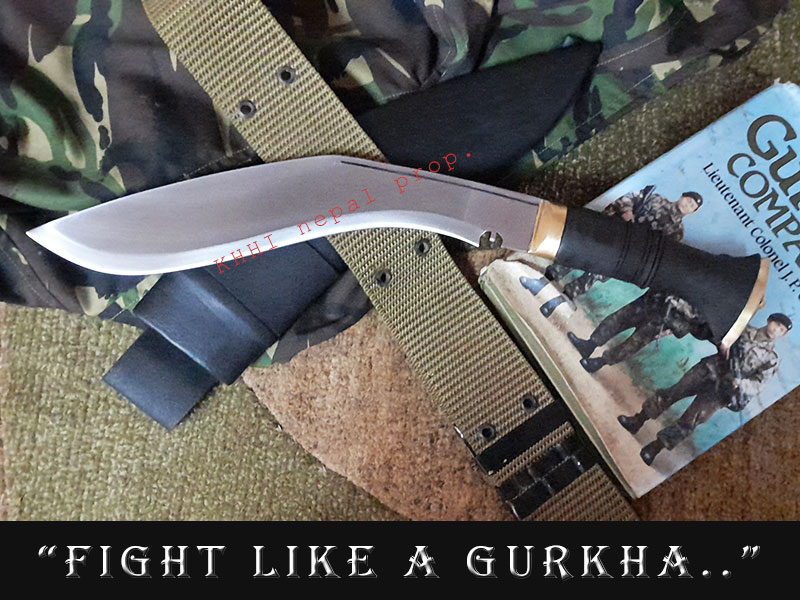 Gurkhas no.1 Combat kukri (Military Mission)