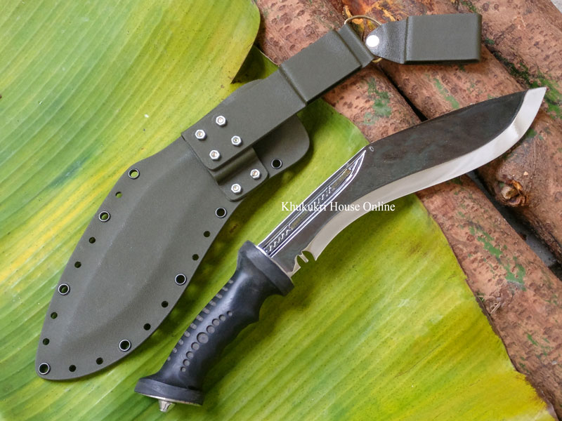 New Rubber Handle Kukri (Extra Grip)