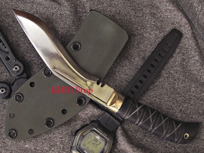 Biltong Advanced Kukri (High Carbon Steel)