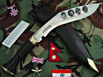 British Gurkhas Victoria Cross Khukuri