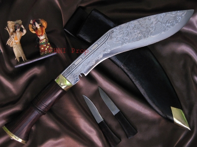 Dragon Decorated Blade (Bhojpure Kukri)
