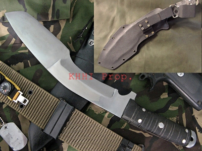 Extrema Soldier no.1 Kukri (Dual Panel Blade)