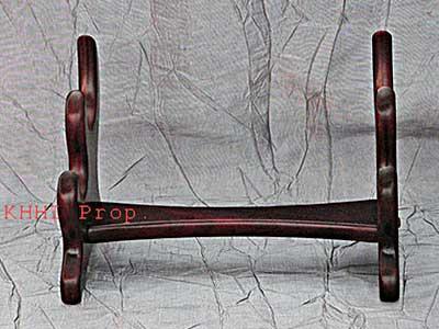 Foldable Wooden Rack For Khukuri