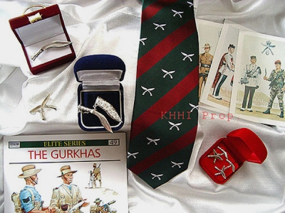 Gurkha Silver Gift Items (Wearable)