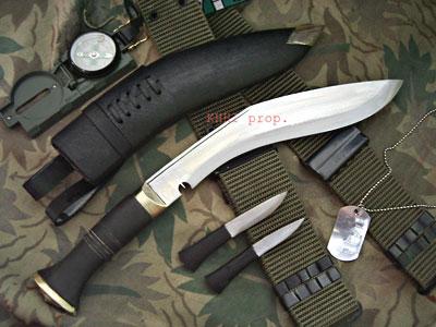 Gurkha Jungle Kukri-Training Knife (Optional)