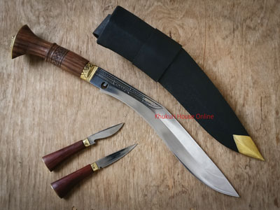 Functional Hollow Forged Khukuri (Chitlange)