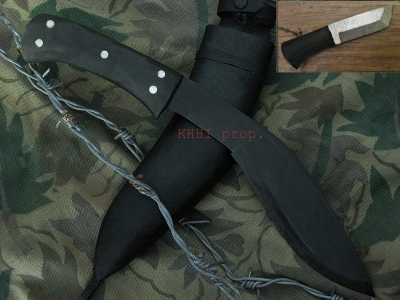 Innovative Rust-FREE Kukri (BLUED)