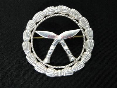 Khukuri Silver Badge (Gurkha Insignia)