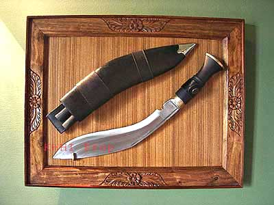 Khukuri Display Frame (Wall Hanger)