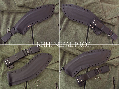 Kydex Sheath (Modern Kukri Scabbard)