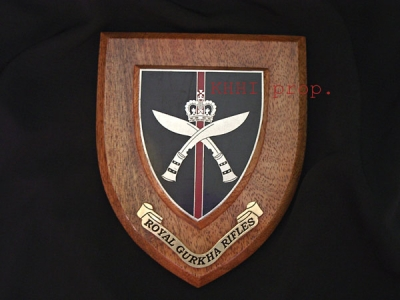 Royal Gurkha Rifles Shield (Wall Plaque)