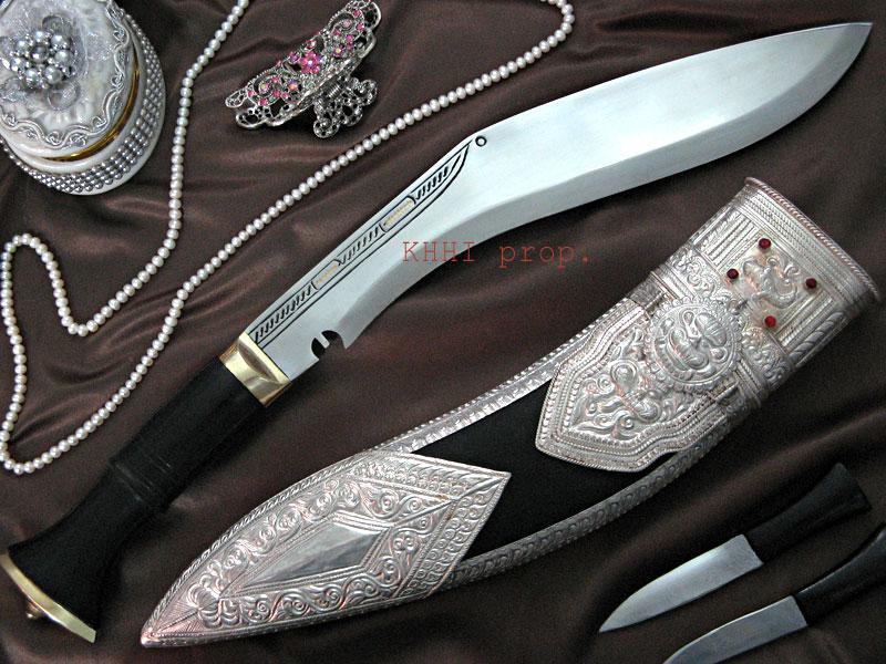 Vintage Silver Sheath Kothimoda Khukuri